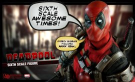 Marvel Deadpool Marvel Sixth Scale Figure</a>  <a href=